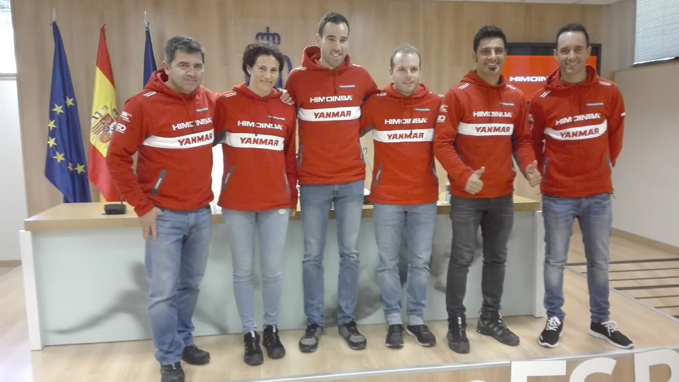 Miguel Puertas, Rosa Romero, Marc Solà, Dani Oliveras, Iván...