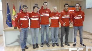Miguel Puertas, Rosa Romero, Dani Solá, Dani Oliveras, Iván...