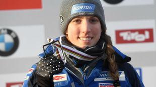 Erin Hamlin, atleta estadounidense de Luge