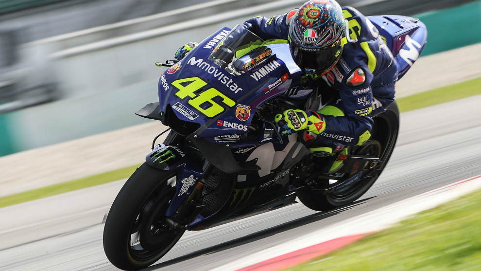 Valentino Rossi, en Sepang