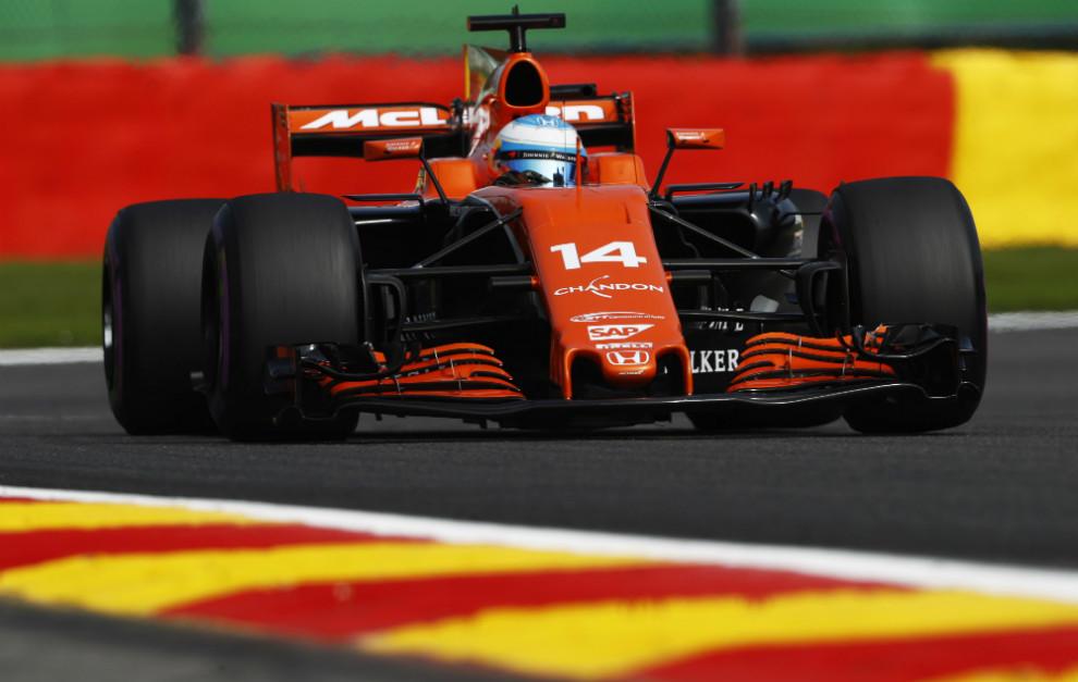 Alonso en Spa 2017