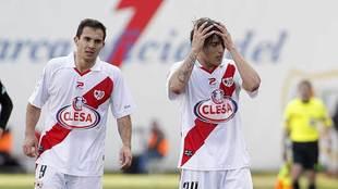 Armenteros y Trejo en Vallecas en la 2010/11, el año del último...