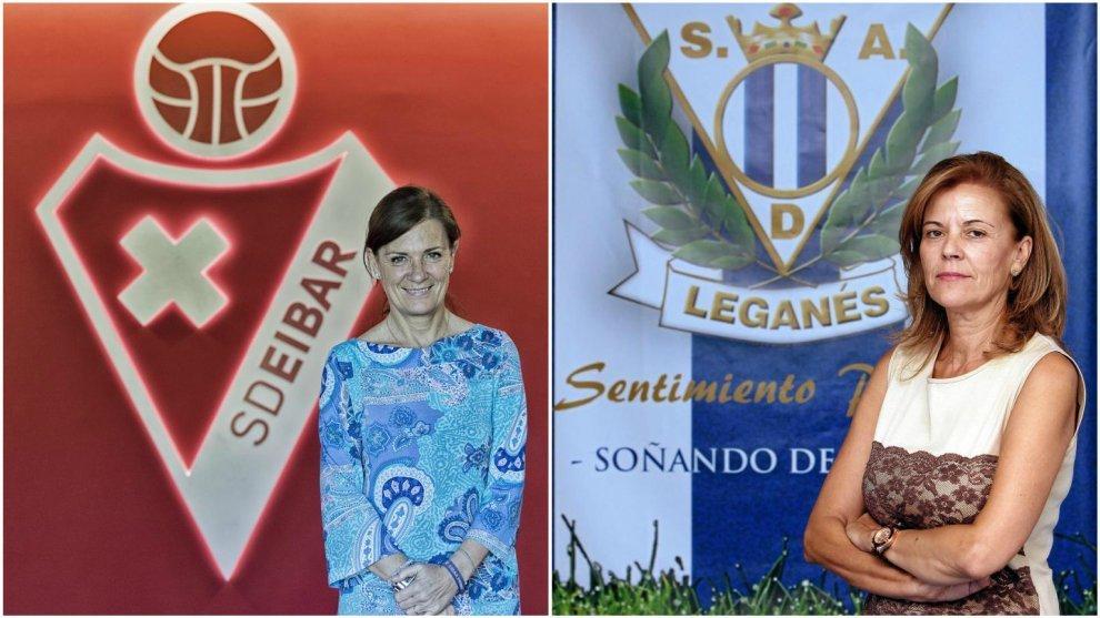Virginia Pavón y Amaia Gorostiza son las dos únicas presidentas de...