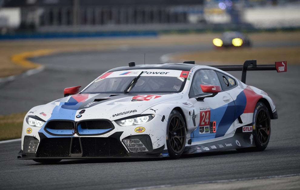 BMW vuelve a Le Mans con el M8