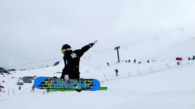 Shaun White en Camp of Champions (Canadá).