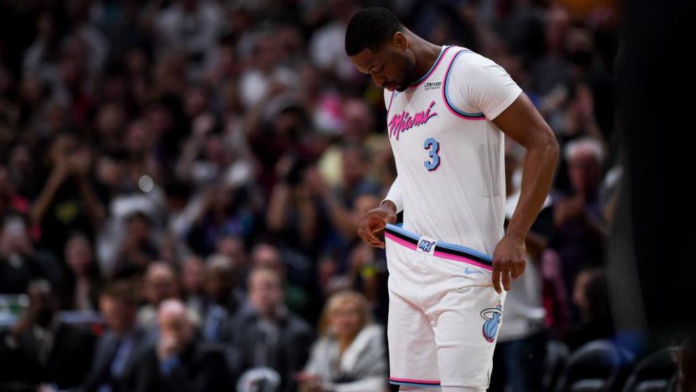 Dwyane Wade vuelve a jugar con los Miami Heat