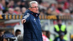 Heynckes, con el Bayern.