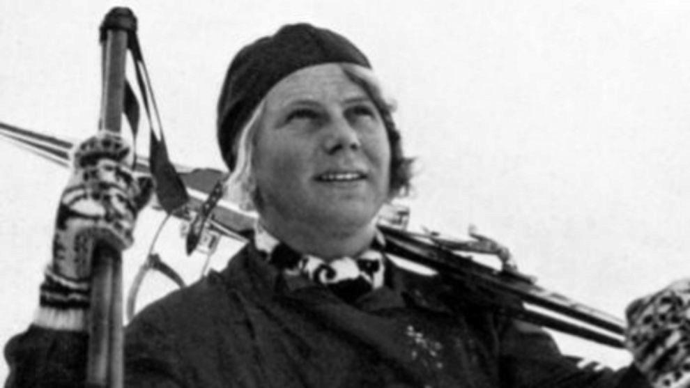 La noruega Laila Schou Nilsen ganó la primera medalla de oro...