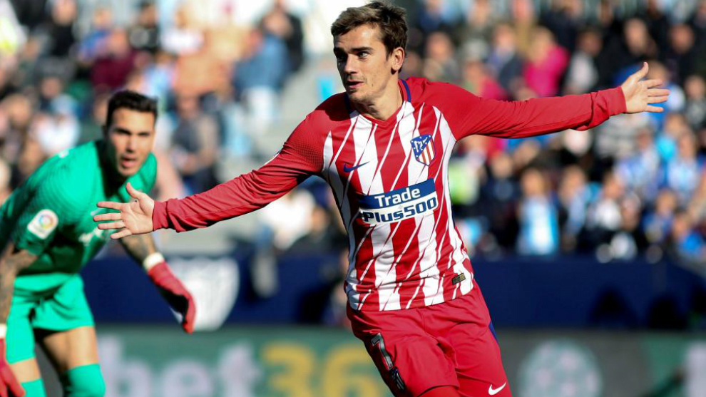 malaga 0 1 atletico madrid griezmann s first minute goal does the