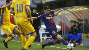 El Barça b perdió tras tres victorias seguidas