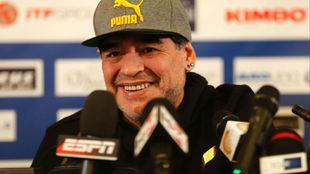 Maradona en una imagen de archivo.