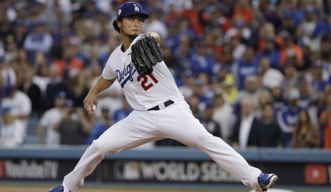 Yu Darvish con los Dodgers