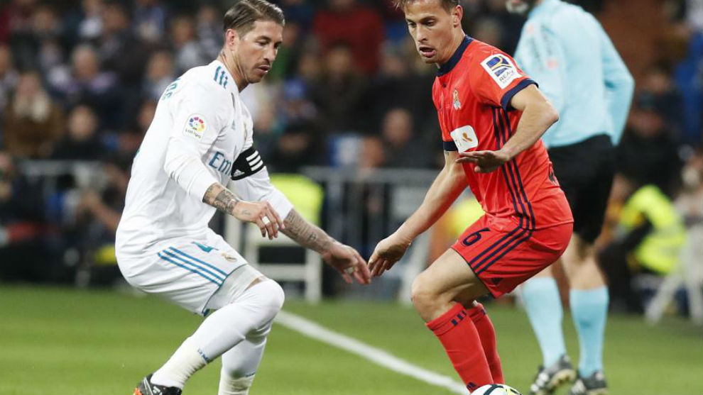 Ramos persigue a Canales.