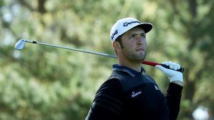 Jon Rahm en Spyglass Hill Golf Course durante la tercera jornada.
