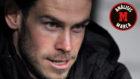Bale en el banquillo del Bernabéu