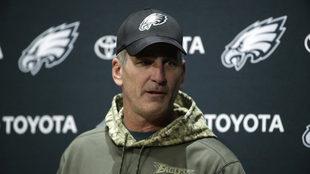 Reich era coordinador ofensivo de Eagles.