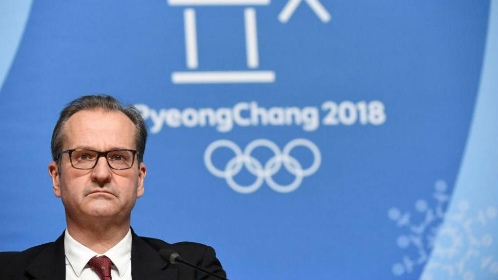 Mark Adams, portaviz del COI en Pyeongchang