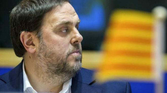 Oriol Junqueras se encuentra en la cárcel de Estremera
