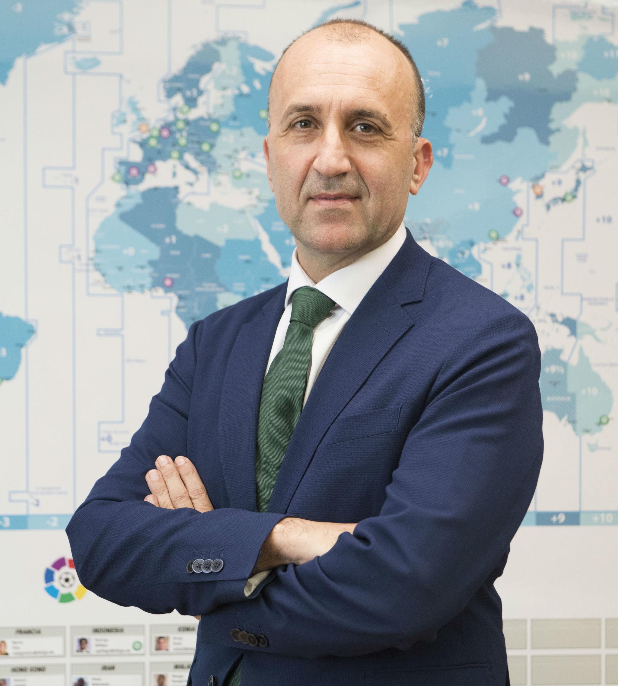 Javier Gómez, director general corporativo de LaLiga