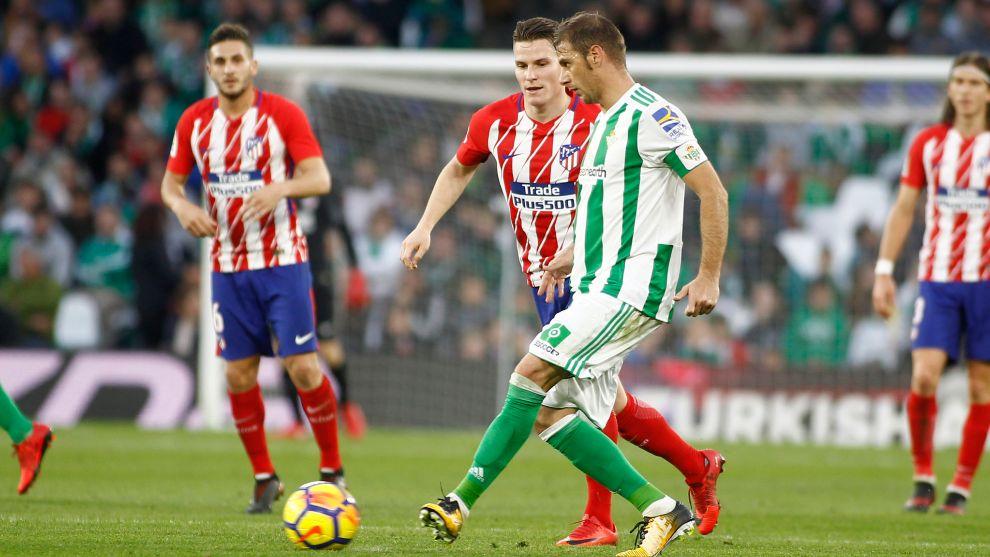 Betis - Atlético de la primera vuelta