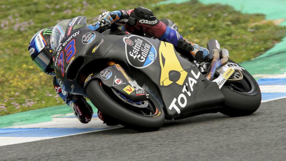 Álex Márquez ha conseguido hoy el segundo mejor tiempo en Moto 2.