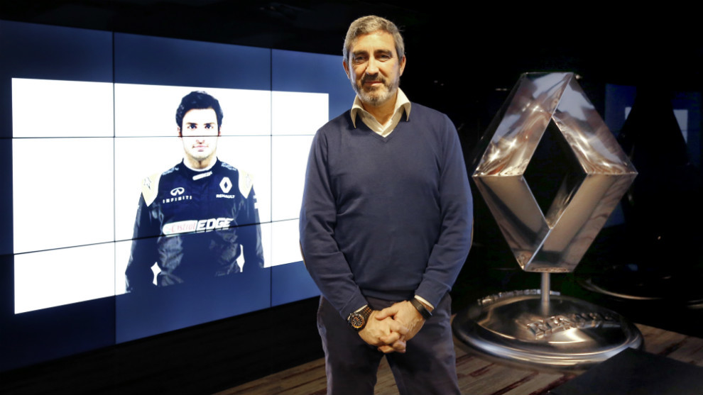 Jesús Presa, Dircom de Renault Iberia, en la sede de la filial...
