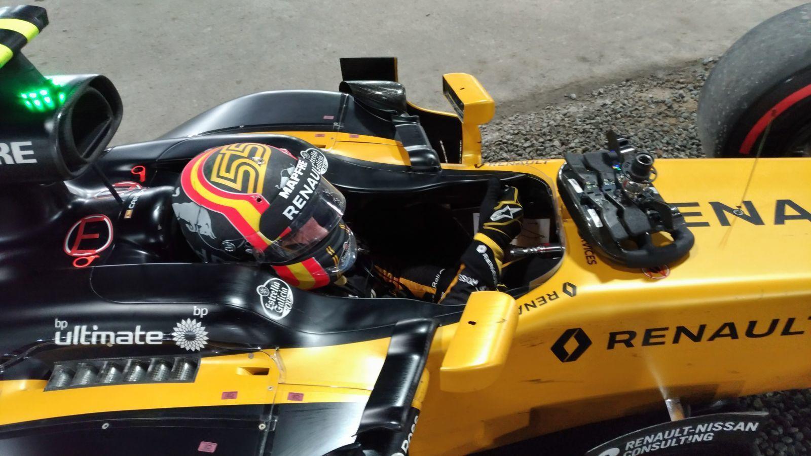 Carlos Sainz , en el RS17