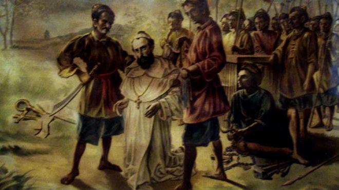Claudio II, emperador romano, sentenció a muerte a Valentín en el...