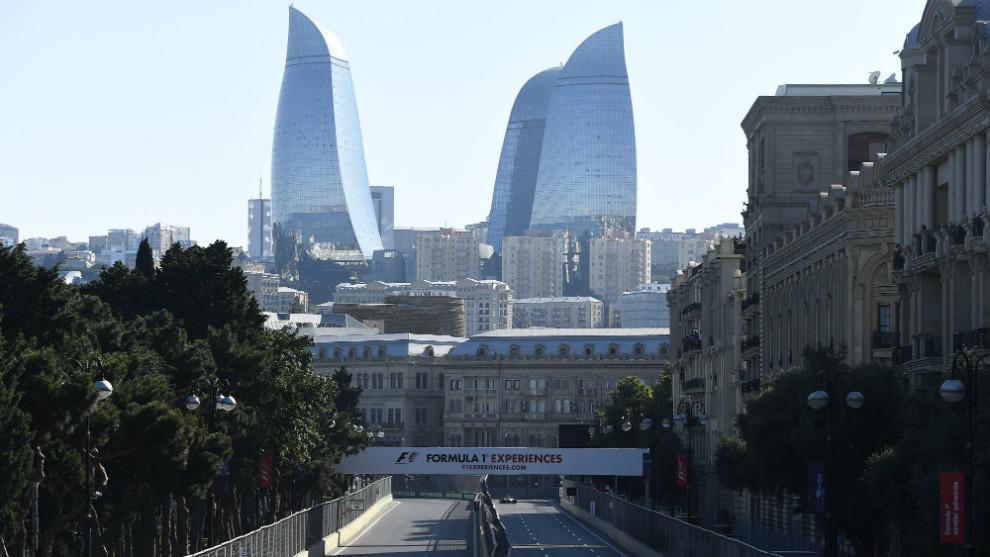 Circuito urbano de Bakú, Azerbaiyán.
