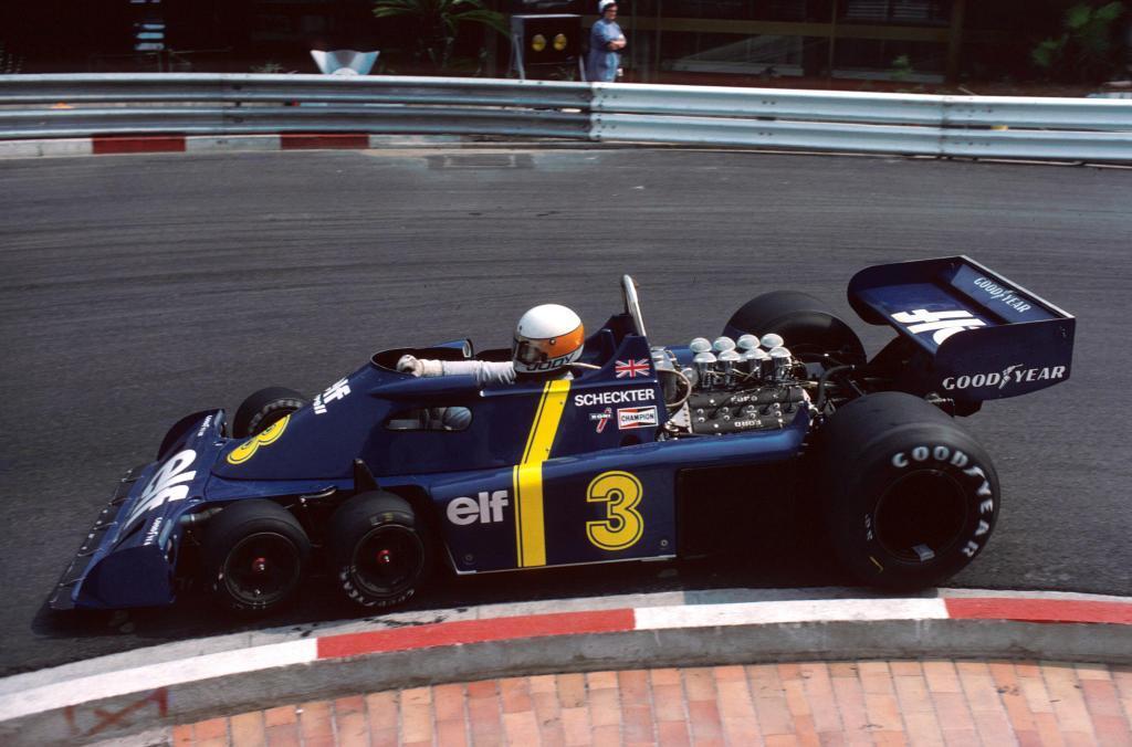 El Tyrrel P34 de seis ruedas, que dejó boquiabierta a la prensa...