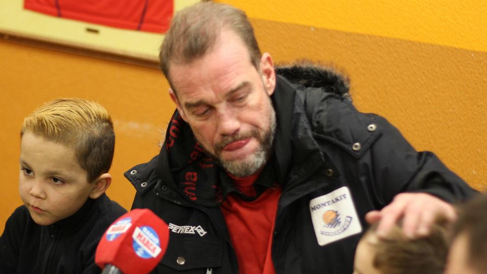 Nestor García durante la entrevista con Radio MARCA