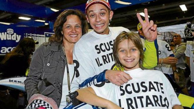 Stefania, Rossi y Marini, en 2008.