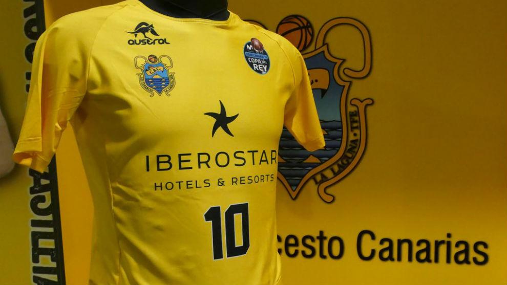 La camiseta con la que el Iberostar jugará la Copa del Rey