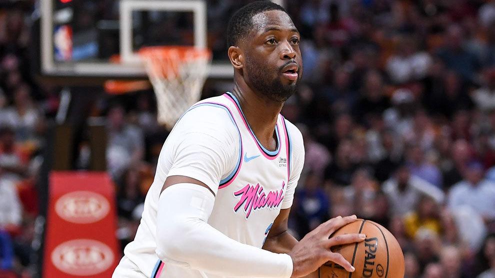 Dwyane Wade con los Heat