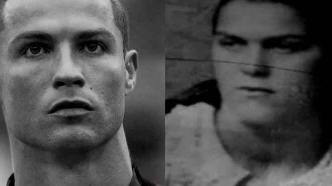 Cristiano Ronaldo y