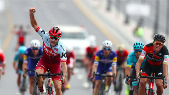 Nathan Haas se impone en la segunda etapa del Tour de Omán