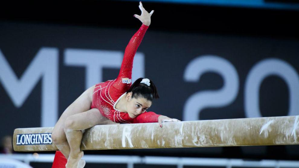 Ana Pérez, durante una actuación el año pasado.