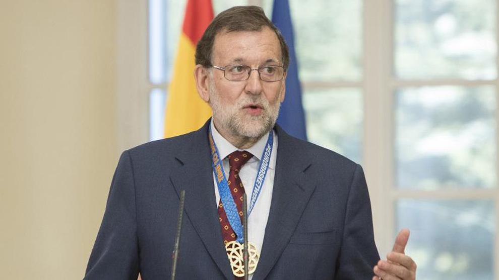 Mariano Rajoy, en un acto reciente