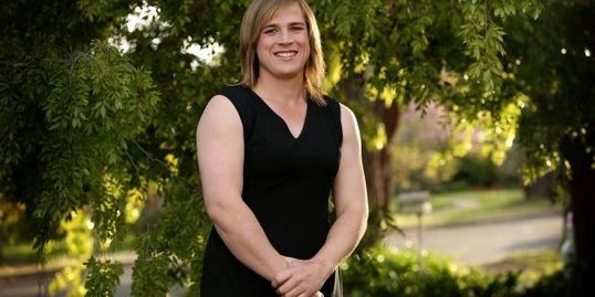 Hannah Mouncey, jugadora transexual de fútbol australiano