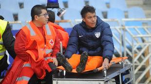 Peñaranda se va lesionado de Anoeta.