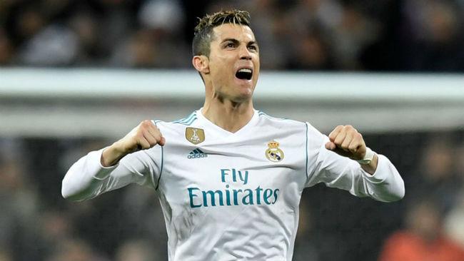 Cristiano celebra el triunfo conseguido ante el PSG.