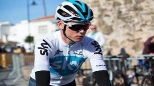GRAF1181. MIJAS (MÁLAGA),14/02/2018.- El ciclista británico del Team...