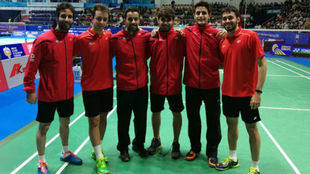 La selección española masculina no pudo pasar a cuartos