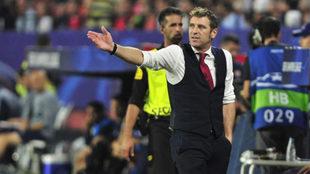 Massimo Carrera, técnico del Spartak de Moscú.