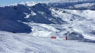 La calidad de nieve que hay en Sierra Nevada es envidiable