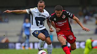 Los Pumas vienen de perder el invicto ante Veracruz