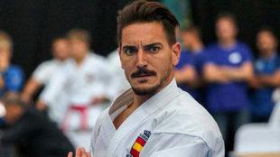 Damián Quintero, durante una competición.