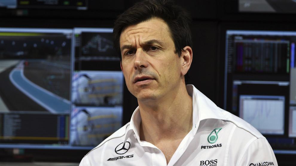 Toto Wolff, director ejecutivo de Mercedes.