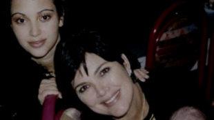 La imagen es de 1997, cuando la joven Kardashian tenía 17 años