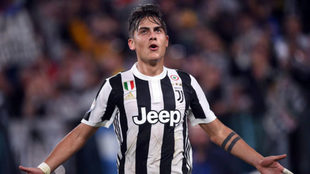 Dybala, con la Juventus.